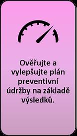 5: Ověřujte a vylepšujte plán preventivní údržby na základě výsledků