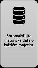 2: Shromažďujte historická data o každém majetku.