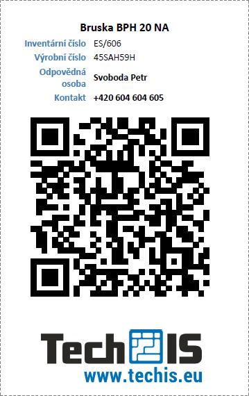 TechIS - QR kód